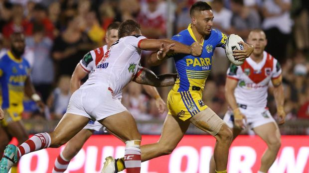 Sorely missed: The Eels will need to bounce back without the inured Corey Norman, says Clint Gutherson.