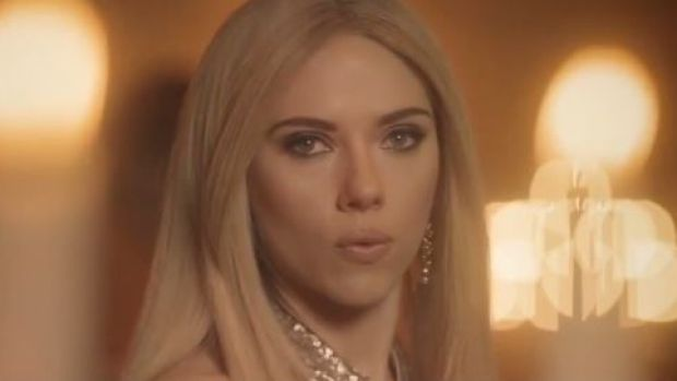Scarlett Johansson as Ivanka Trump on <i>Saturday Night Live</i>.