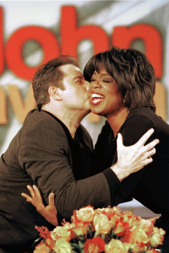 "John Travolta said the first time he met Oprah, she melted his heart, ""As soon as I knew that she loved me, I was home. ..."