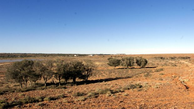 Almost 10,000 drums of radioactive waste are stored at a CSIRO facility in Woomera, South Australia.