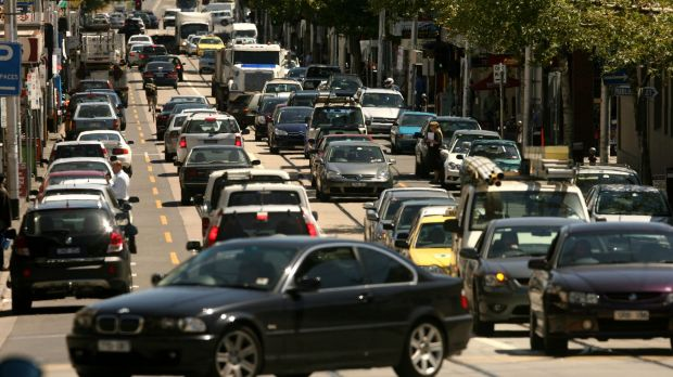 Traffic congestion is one of the prices Melbourne is paying for its population boom.