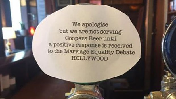 The Hollywood Hotel in Surry Hills is one of a number of pubs to boycott the brand after the video was released.