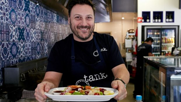 Bill Makris, the owner of Tank Fish & Chippery, has introduced a credit card surcharge to help cover his costs.