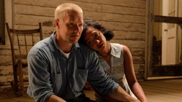 Joel Edgerton and Ruth Negga in <i>Loving</i>.