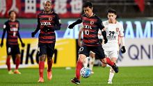 KASHIMA, JAPAN - MARCH 14:  Mitsuo Ogasawara of Kashima Antlers in action during the AFC Champions League Group E match ...