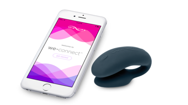 The We-Vibe 4 Plus allows users to adjust intensity and vibration patterns using a smartphone linked to an app.