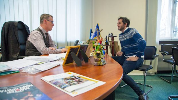 Narva's officials are full of praise for their city.