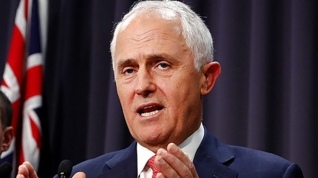 Not happy: Malcolm Turnbull says he can't work with Sally McManus
