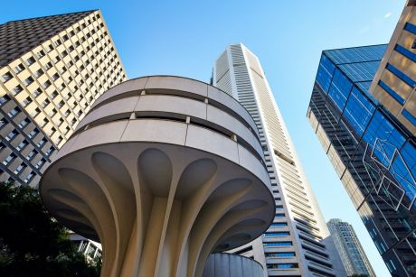The MLC Centre, designed by architect Harry Seidler, is at the heart of the massive property deal.