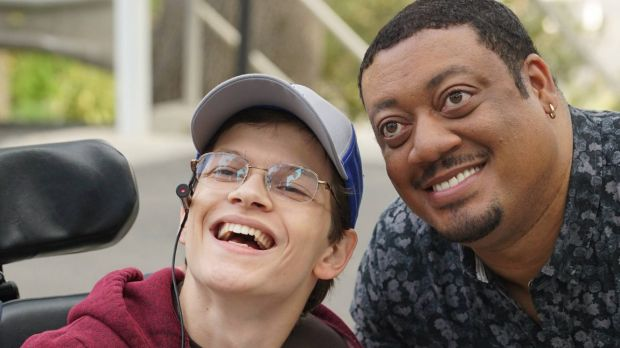 <i>Speechless</i> is breaking new ground by casting a disabled actor, Micah Fowler, as the show's main character JJ.