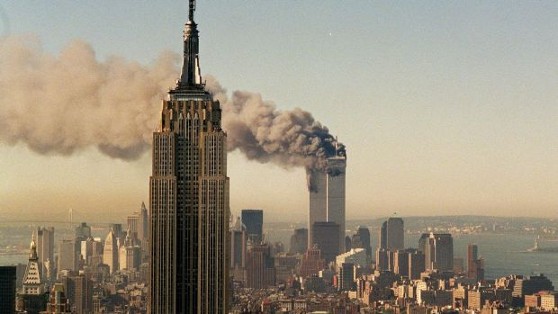 The Dow Jones fell by as much as 7.52 per cent in intraday trading when Wall Street reopened following the 9/11 terror ...
