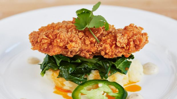 The Memphis Meats' southern fried chicken.