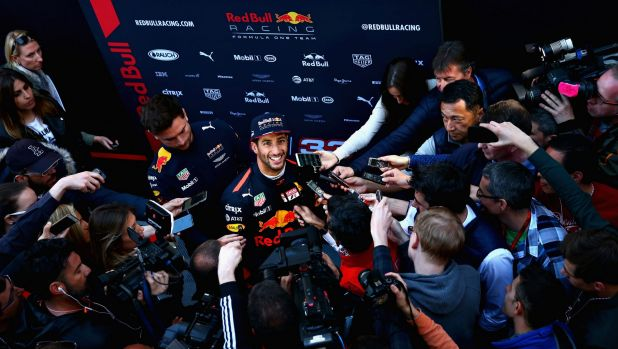 Daniel Ricciardo of Australia and Red Bull Racing