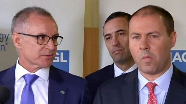 Friends no more: Jay Weatherill and Josh Frydenberg's extraordinary press conference.