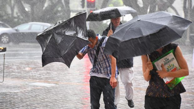 Much of the east coast of Australia is set for a soaking.