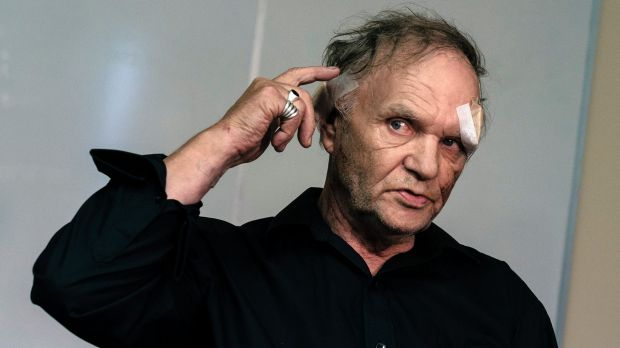 Cranbourne North gradfather Rick Maaskant, was attacked with a pitchfork during a home invasion