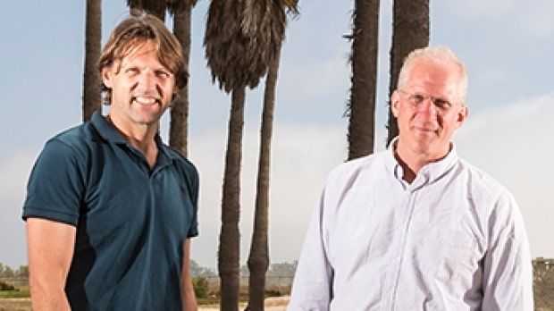 Professors Leo Kouwenhoven (left) and Charles Marcus have been employed by Microsoft to lead the development of ...