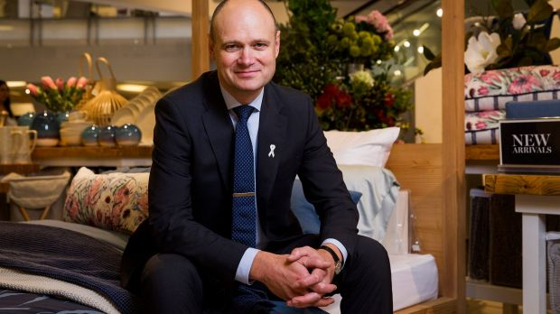 Myer chief Richard Umbers describes retail conditions as challenging but maintains those that are evolving their ...