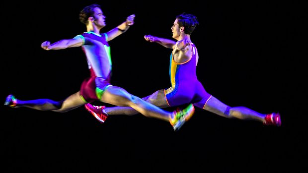 The Australian Ballet's production of Faster.