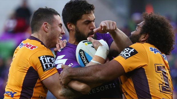 Questionable: The NRL deemed Thaiday's act to be against the spirit of the game.