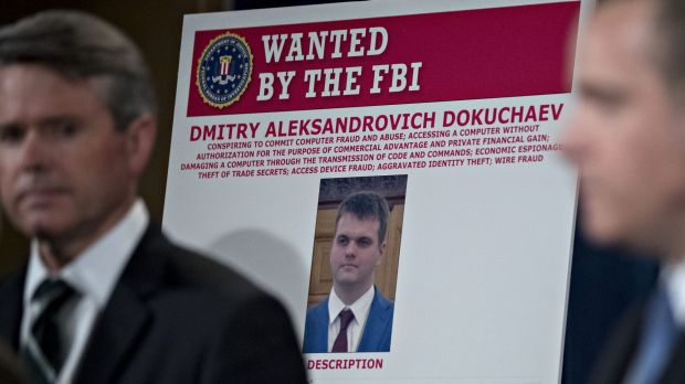 A wanted poster for Dmitry Aleksandrovich, who is already in jail.
