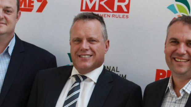 Prime's Dave Walker at a My Kitchen Rules Event.
