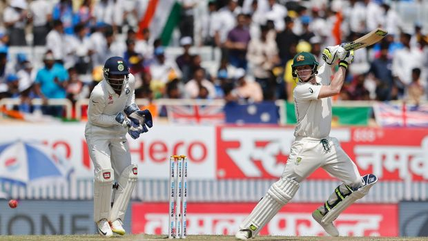 Overachiever: Steve Smith's extended knock was one of true significance.