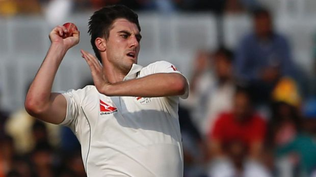 Firing in: Cummins is the rare sort of cricketer who immediately changes the mood of a match when he becomes involved.
