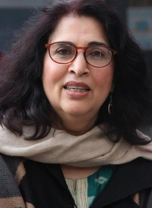 Urvashi Sahni, founder and director the Prerna School for Girls in Lucknow.