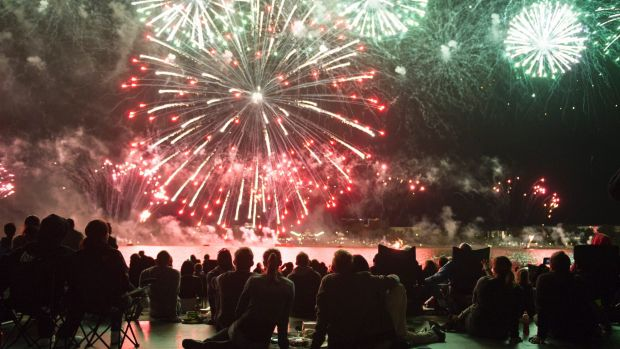 Skyfire will light up the sky over Lake Burley Griffin on Saturday night.