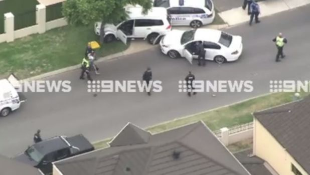 Nine News Perth caught the moment the teen was apprehended by WA Police.