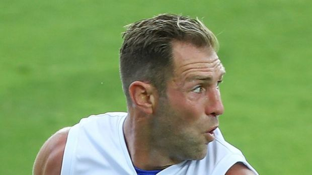 Big-name recruit: Travis Cloke will make his Bulldogs debut on Friday night.