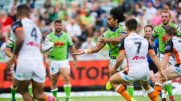 Another attack: Sia Soliola distributes.