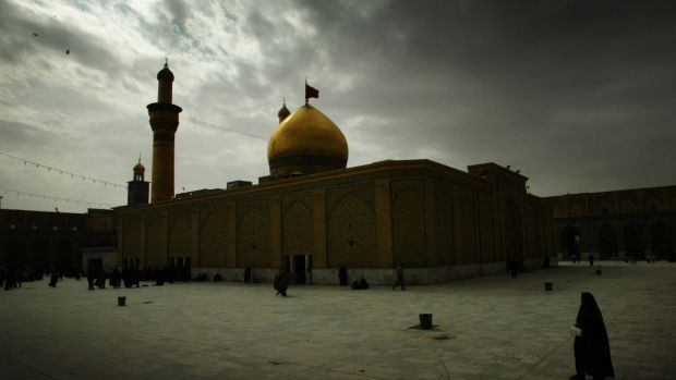 The Imam Hussein  shrine in Karbala, Iraq, is one of the most significant sites in the Shiite religion.