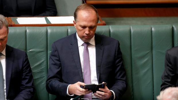 Immigration Minister Peter Dutton is pushing for a postal vote plebiscite.