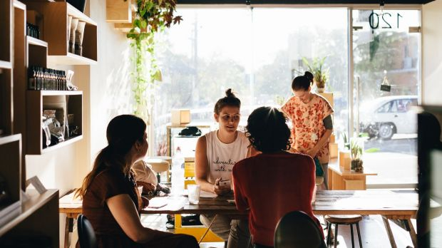 Raw food is finding a growing audience at Cafe Shokuiku.