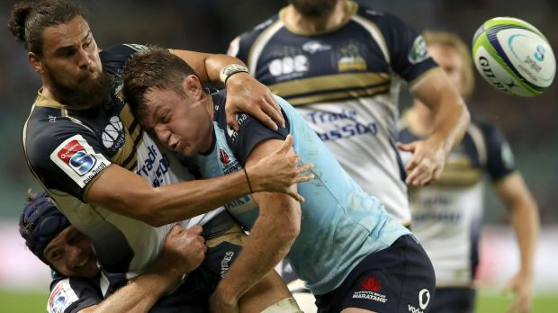 Injury blow: Jack Dempsey is to miss up to eight weeks after injuring his foot in the Waratahs' loss to the Brumbies.