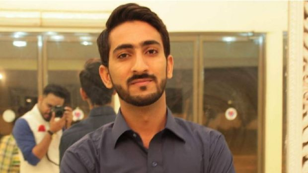 University of Newcastle business student Mohsin Awan, 23, is missing off Nobbys Beach in Newcastle.