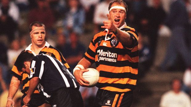 Glory days: Paul Sironen in his playing career.