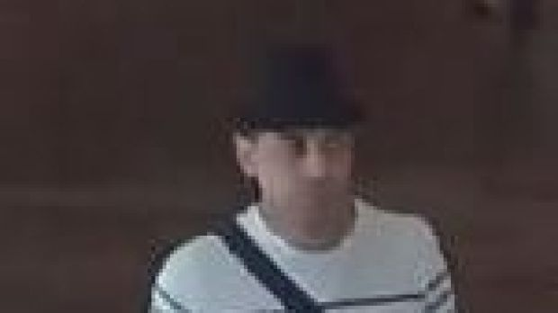 Police believe this man can assist with their inquiries into the theft of a vehicle and subsequent deceptions.