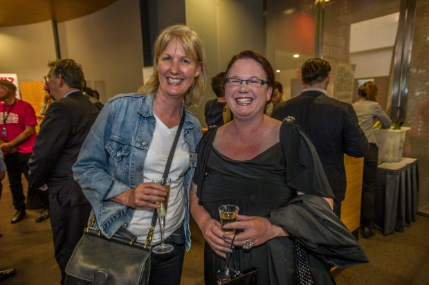 Attendees Suzanne Hannema, of Murrumbateman and Jo Kennedy, of Farrer.