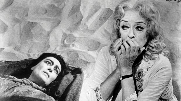 The real Crawford and Davis in <i>What Ever Happened to Baby Jane?</i>