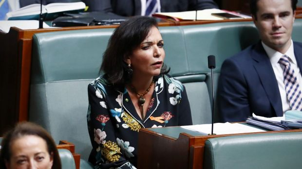 Labor MP Anne Aly listens to Prime Minister Malcolm Turnbull during question time on Tuesday.
