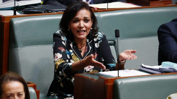 Labor MP Anne Aly listens as Prime Minister Malcolm Turnbull speaks in question time on Tuesday.