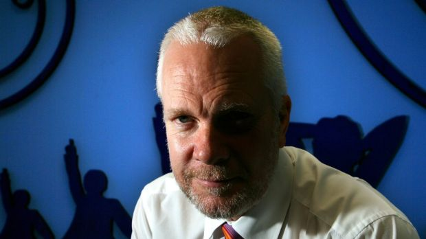 Justin Milne when he was head of Telstra's BigPond division in 2006.