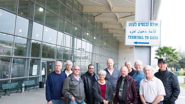 Israeli Road to Recovery volunteers help guide Palestinian parents and their children through the hospital process. ...