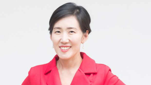 Korean digital education researcher Yuhyun Park, from the DQ Institute.