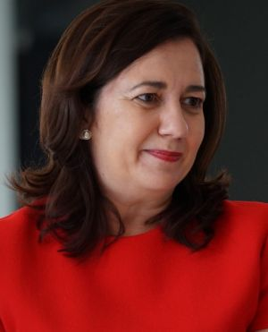 """Queensland Premier Annastacia Palaszczuk: """"We will continue to fight for Queensland and we will continue to fight for ..."""