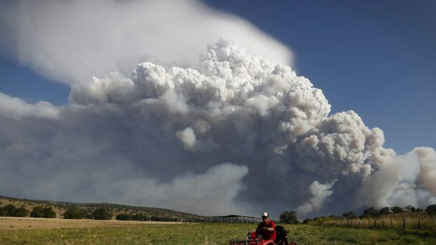 Flammagenitus forms from bushfire smoke. The type of cloud was formerly known as a pyro-cumulus.