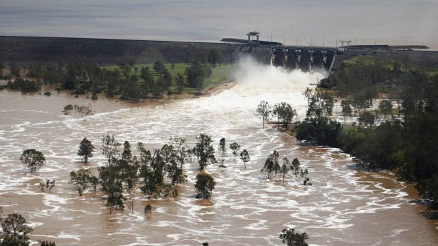 Wivenhoe Dam, completed in 1984, has not met national safety guidelines for large dams since about 2002, despite more ...